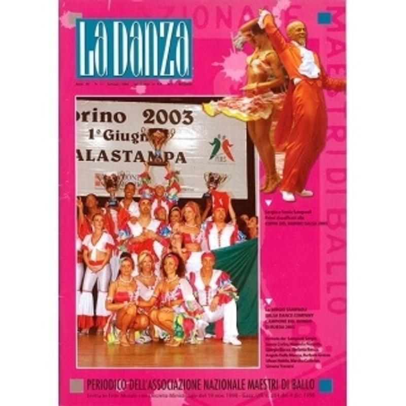 danza 2003 copertina